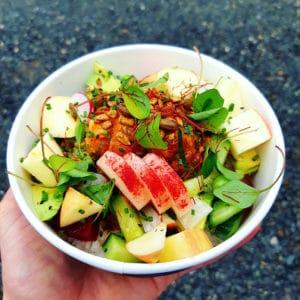 salade japonaise à emporter