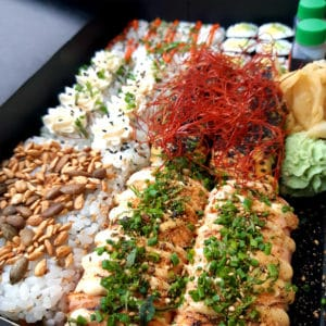 sushi à emporter Chamonix Les Houches