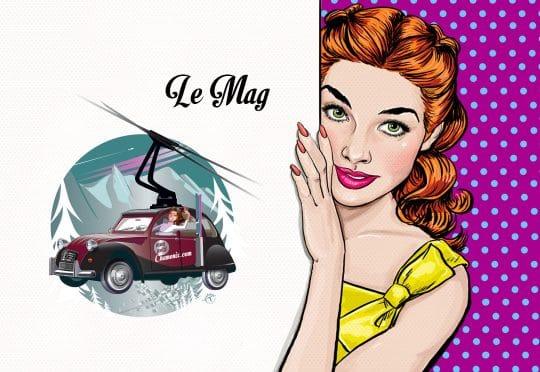 Illustration avec le logo Mon Petit Chamonix