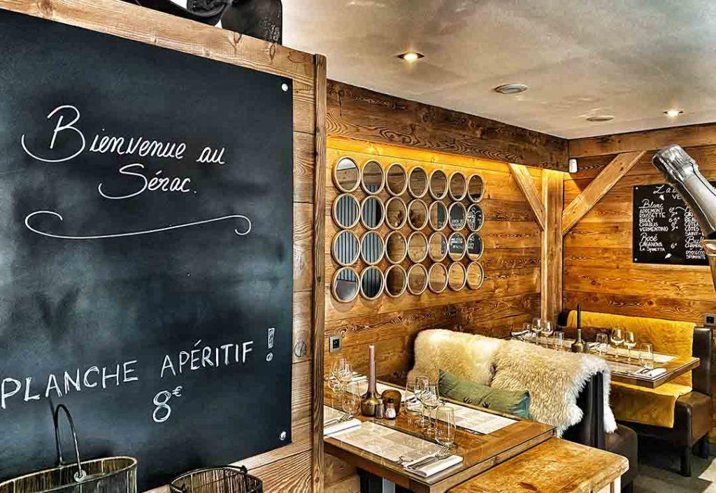 Restaurant à Chamonix