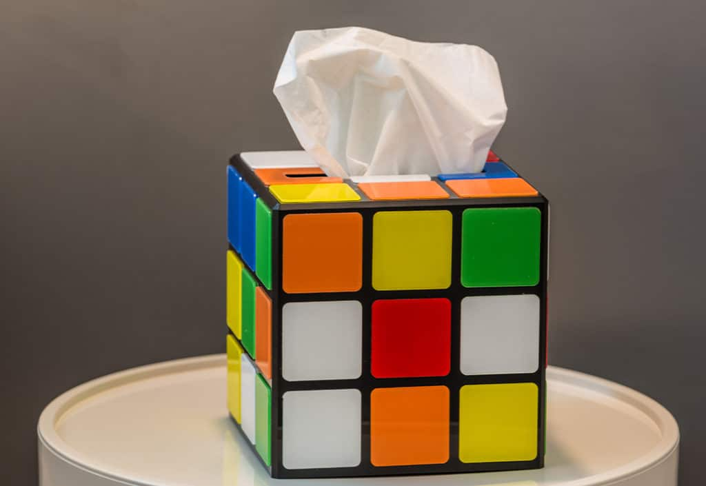 déco rubik's cube