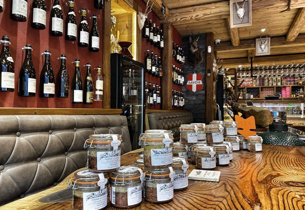 Comptoir du Vin sur Vin Chamonix