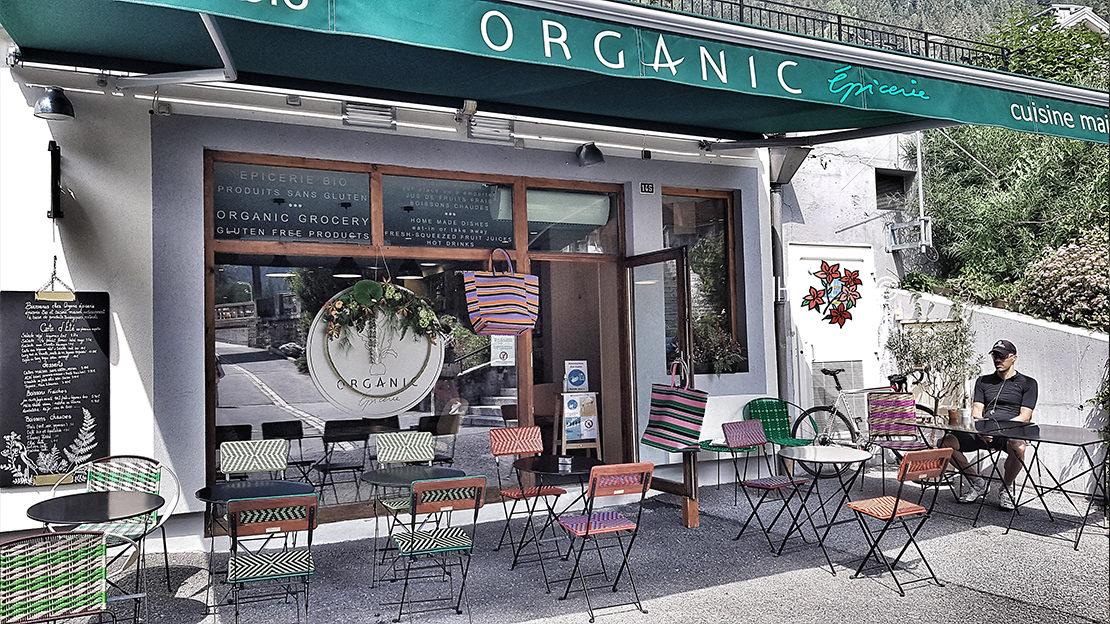 Organic épicerie plats à emporter Chamonix
