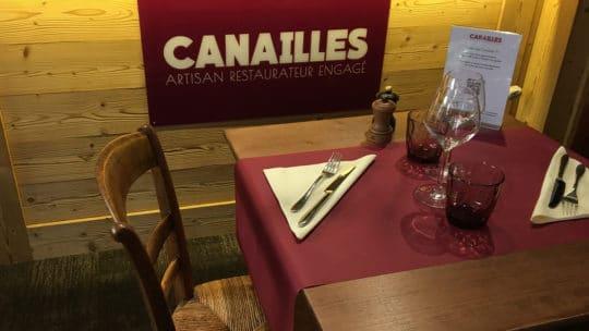 restaurant Canailles Chamonix