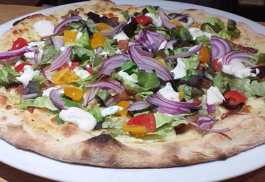Pizza à emporter les houches