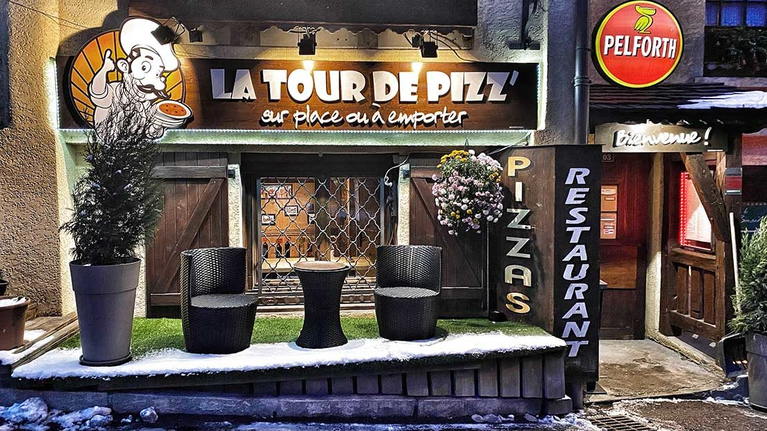pizza les houches