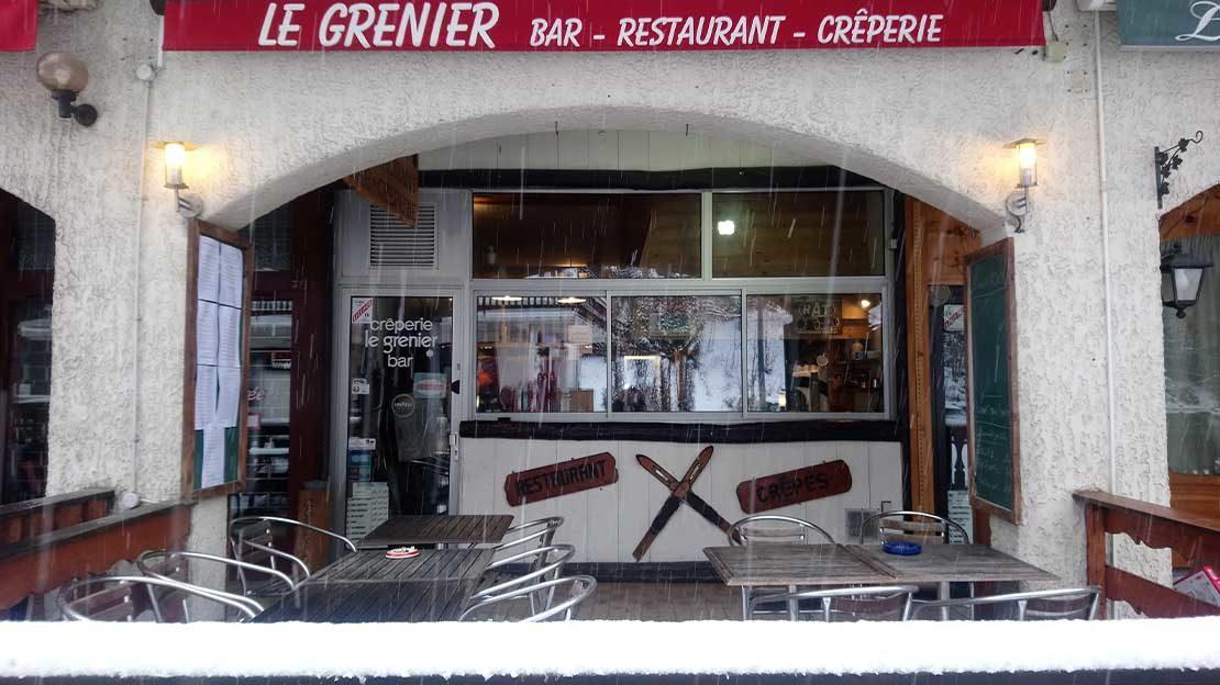 restaurant à emporter argentière