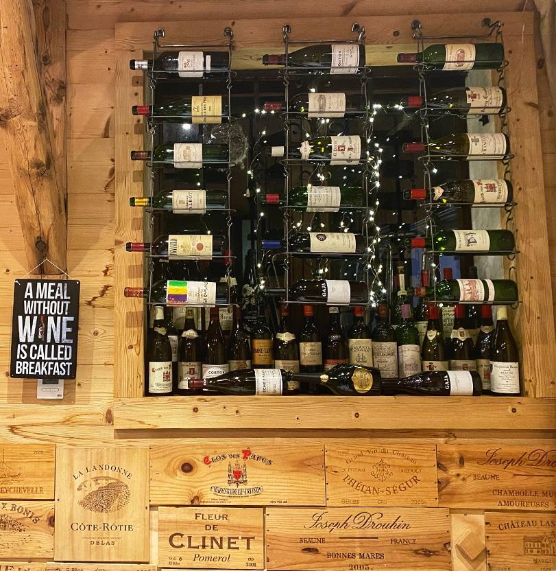 vins à emporter Le Chaudron