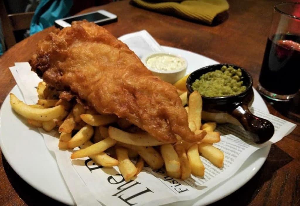 fish n chips à emporter