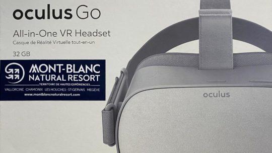 casque de réalité virtuelle Chamonix