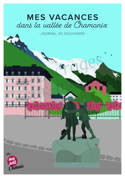 Livre mes vacances à Chamonix