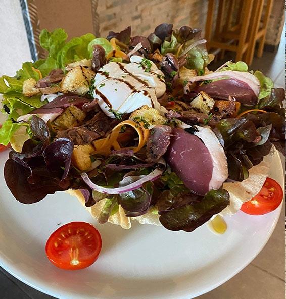 salade estivale Les Houches