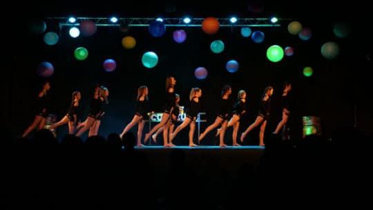 spectacle de danse à Chamonix