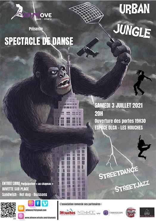 spectacle de danse Chamonix