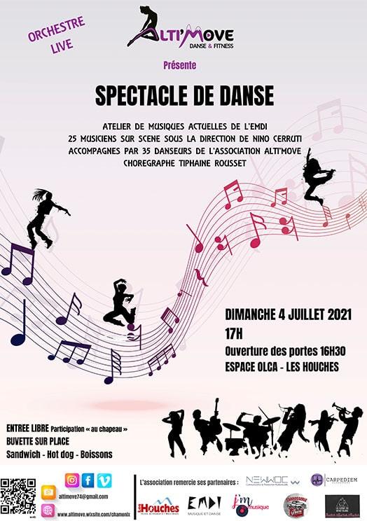 spectacle EMDI Chamonix