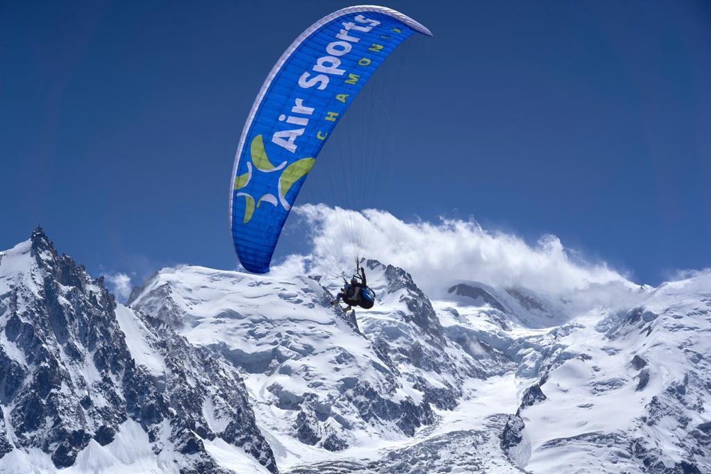 Air Sports Chamonix Vol en parapente