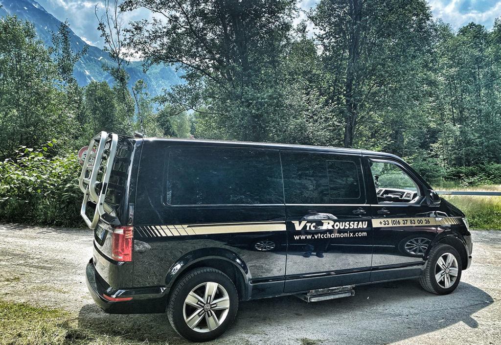 transport en taxt Chamonix