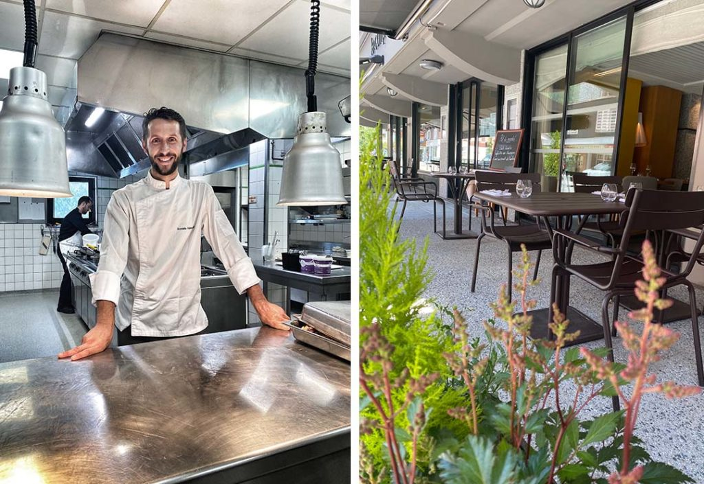 Daniele raimondi chef chamonix