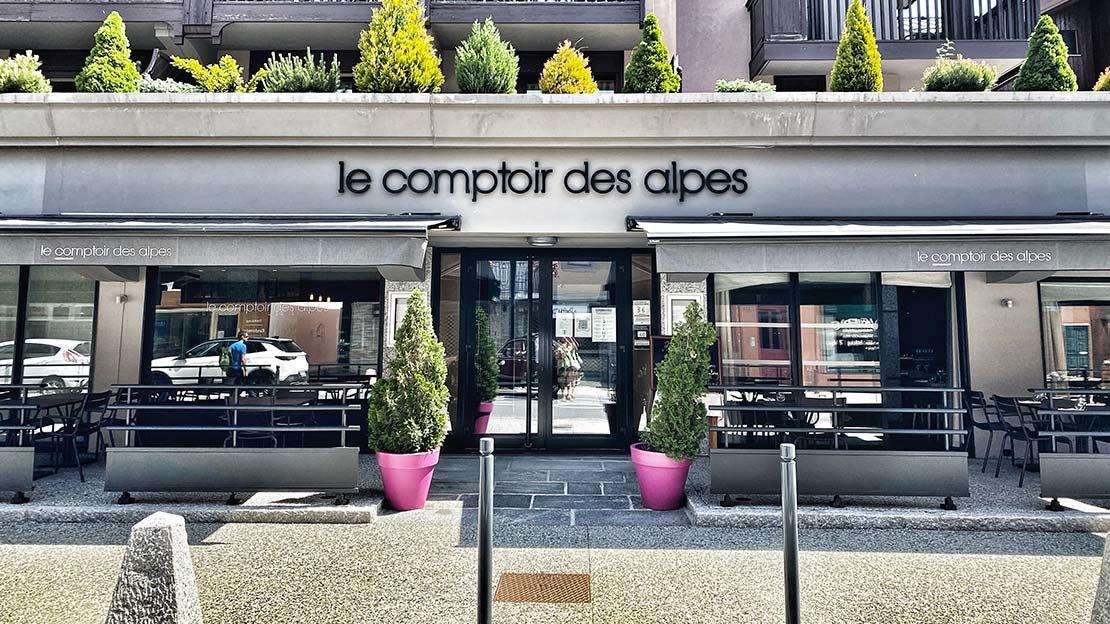 Restaurant classe de Chamonix