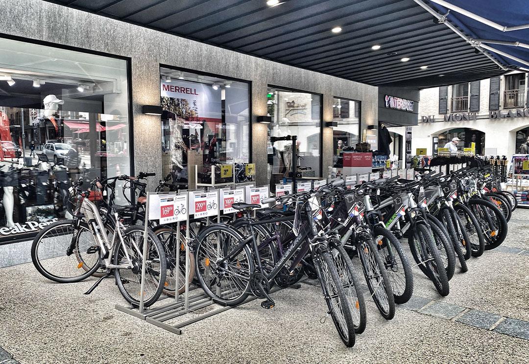 achat vélo vtt chamonix
