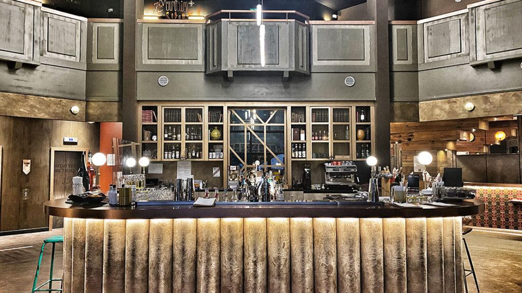 bar à gin Chamonix