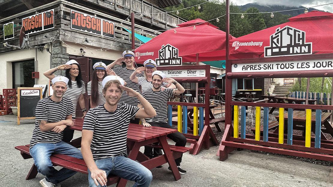 restaurant avec terrasse aux Houches