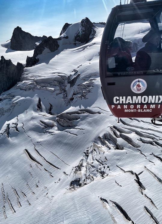 panoramic Mont-Blanc
