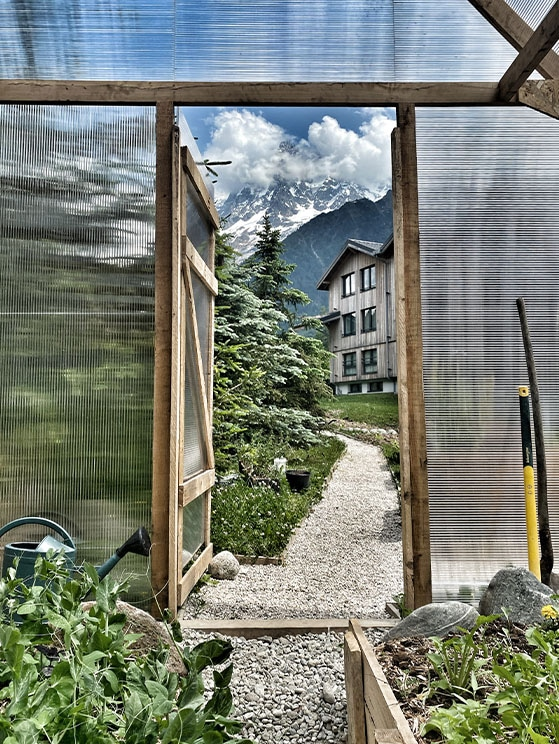 permaculture les Houches
