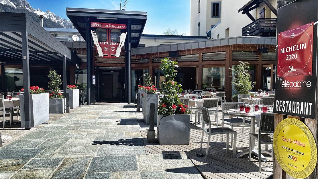 restaurant semi-gastronomique à Chamonix