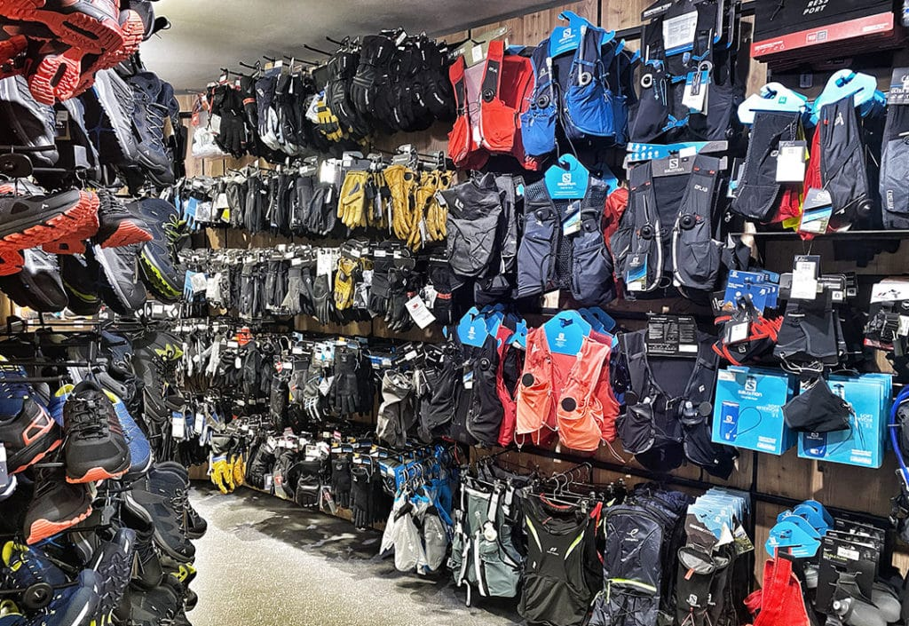s'équiper pour le trail à Chamonix