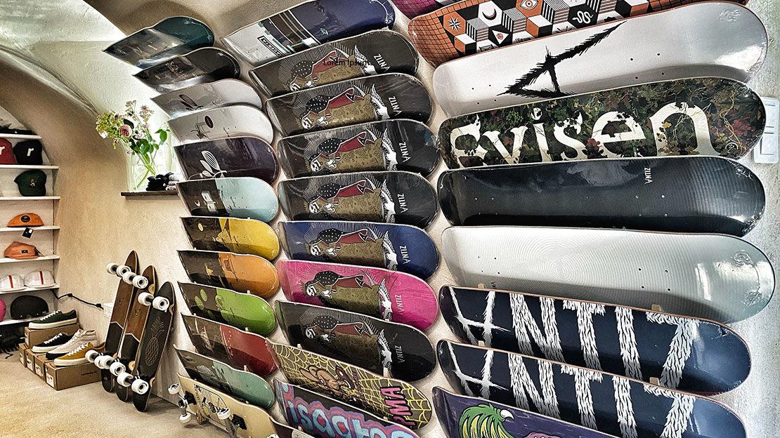 skate shop à chamonix