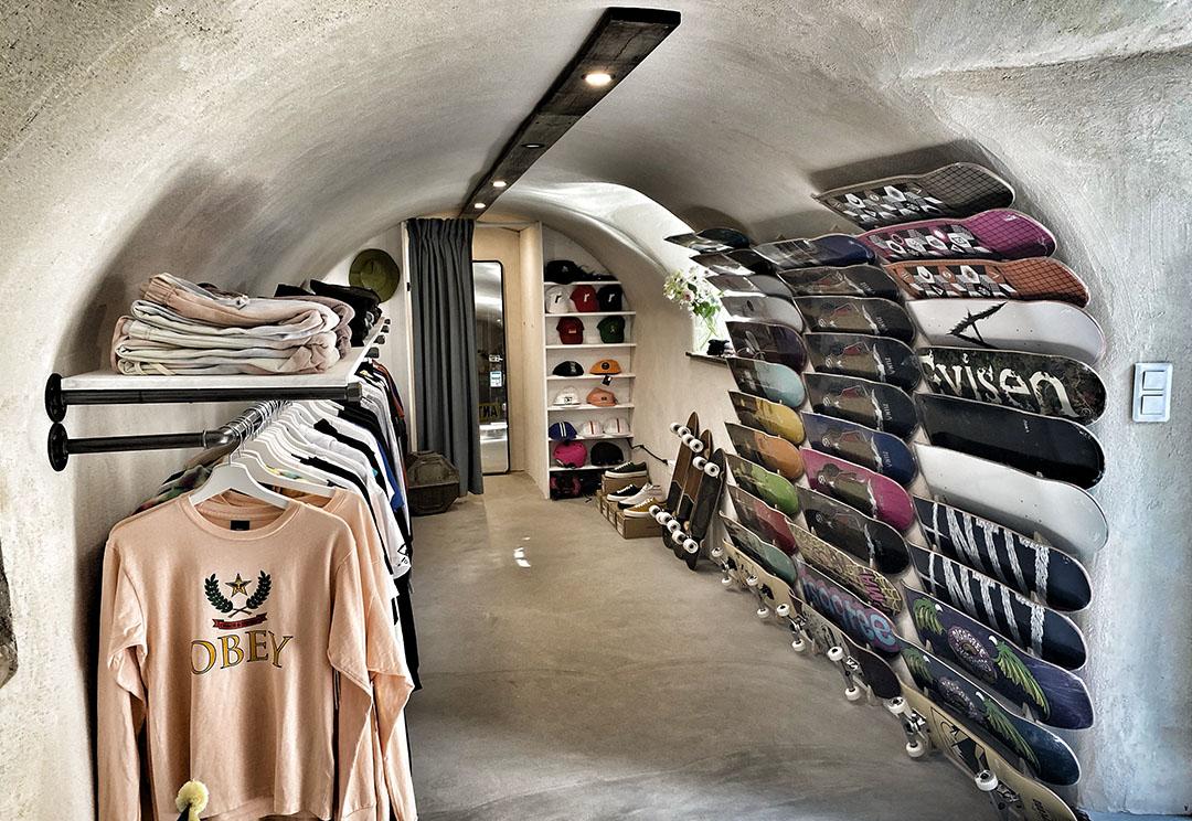 skate shop chamonix