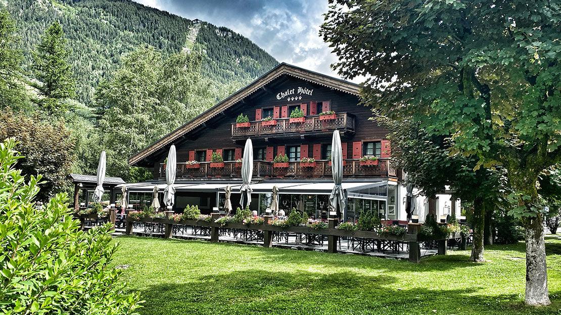 Le Castel, hôtel-restaurant époustoufflant Chamonix