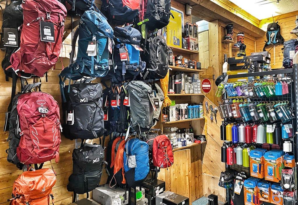 Magasin multisports de montagne Chamonix