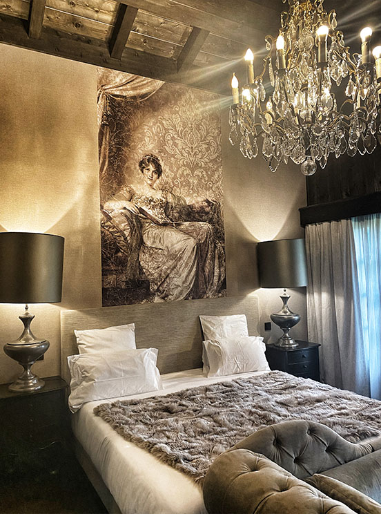 chambre Le Castel Chamonix