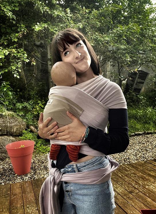 location écharpe extensible pour bébé