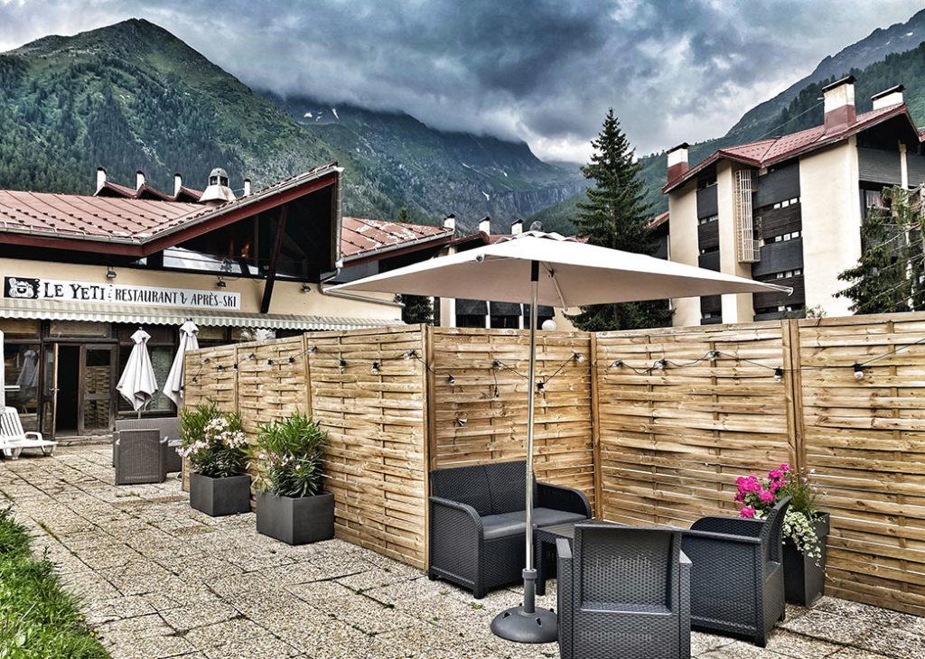 le yéti restaurant et après ski chamonix