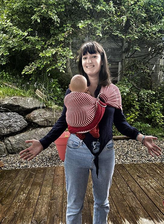 portage écharpe bébé