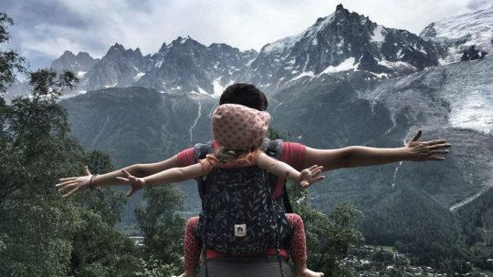 Formation portage bébé en écharpe Chamonix