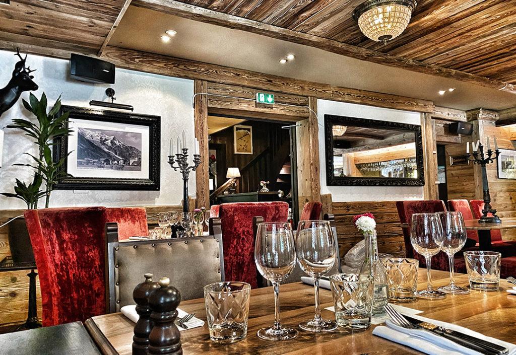 restaurant raffiné Chamonix