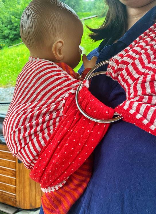 écharpe de portage Chamonix