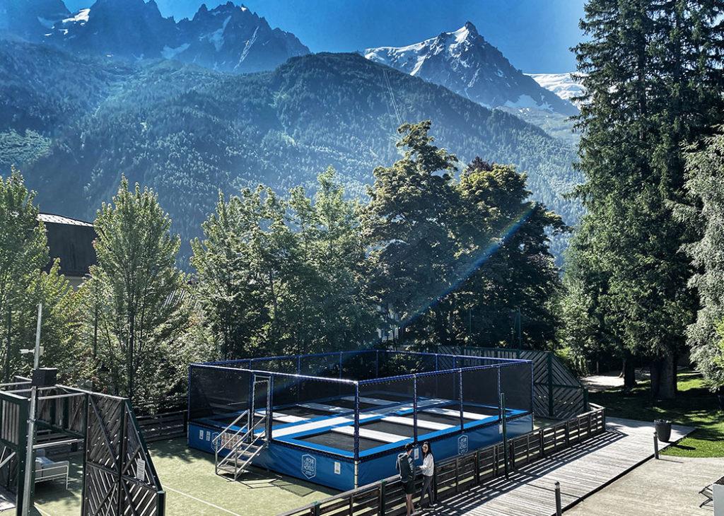 trampoline parc Chamonix