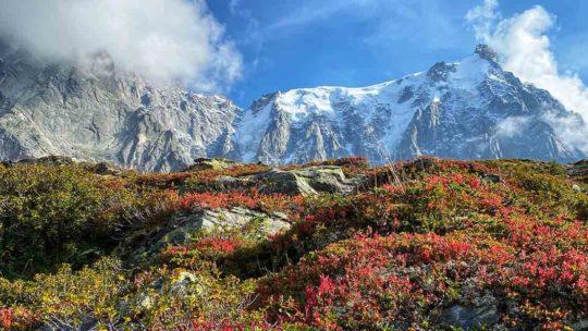 que faire l'automne à Chamonix